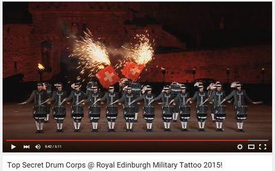 Top Secret Drum Corps @ Royal Edinburgh Military Tattoo 2015!.jpg